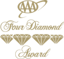 Four diamond award by AAA logo | Karisma Hotels & Resorts®