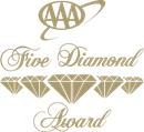 Five diamond award sponsored by AAA logo | Karisma Hotels & Resorts®