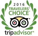Traverlers' choice 2016 award sponsored by Trip Advisor logo | Karisma Hotels & Resorts®