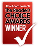 The reader's choice award by About.com logo | Karisma Hotels & Resorts®