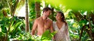 Wonderful couple experiencing the best nudist all inclusive resort | Hidden Beach | Mexico